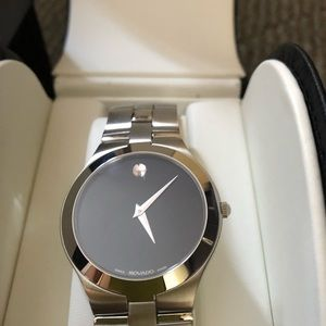 Movado 84 G2 1899 Stainless steel watch